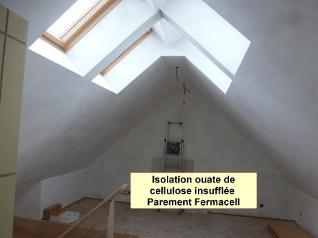 isolation ouate de cellulose